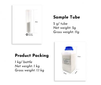 Sample tube and standard bottle
